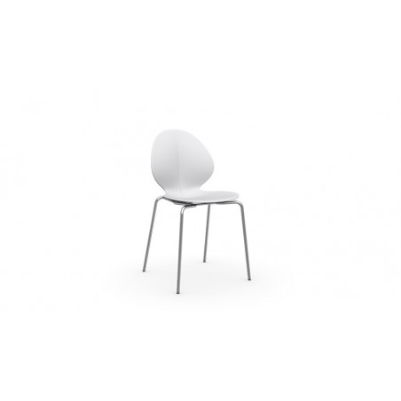 Chaise Basil de Calligaris (empilable)