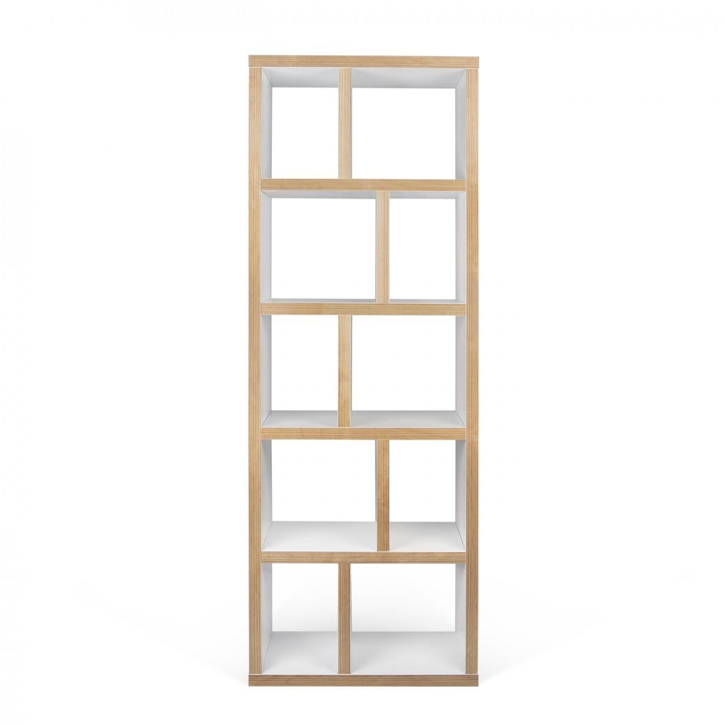 Calligaris Division: boekenkast met losse kleurelementen - Depot Design