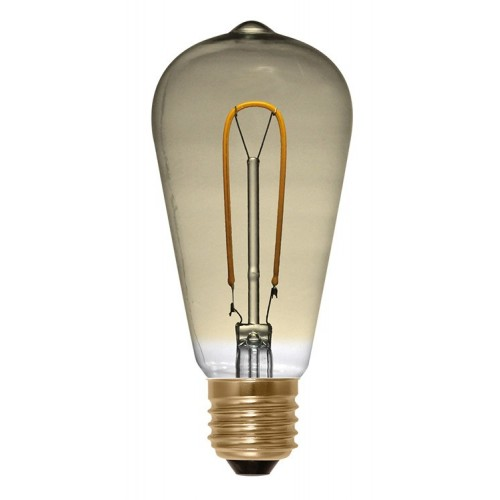 Rustika Curved Golden LED lichtbron
