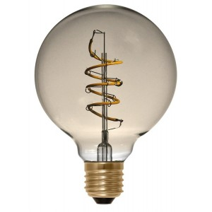 Ampoule LED Globe 95 Curved Golden