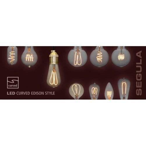 Globe 95 Curved Golden LED lichtbron