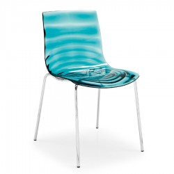 Chaise L'Eau de Connubia Calligaris (empilable)