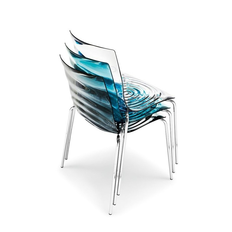 Chaise L'Eau de Calligaris (empilable)