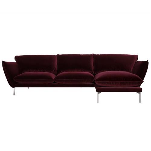 Canapé Hugo  de Sits en velours