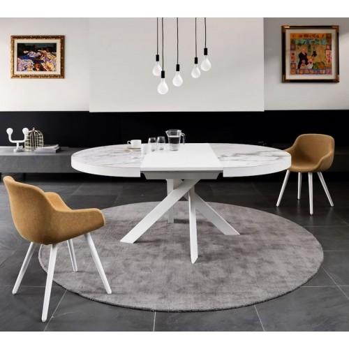Tivoli keramische tafel van Calligaris