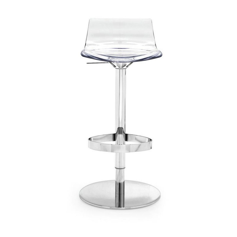 Calligaris l 39 eau tabouret de bar design depot design for Chaise de bar ajustable