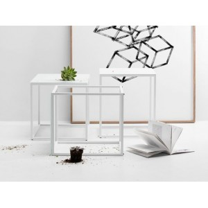 Table basse Ferm Living 'Marble'