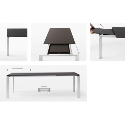 Table extensible Kristalia Nori