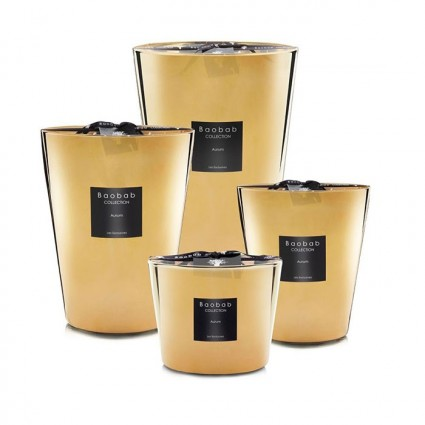 Bougies parfumées Baobab Aurum