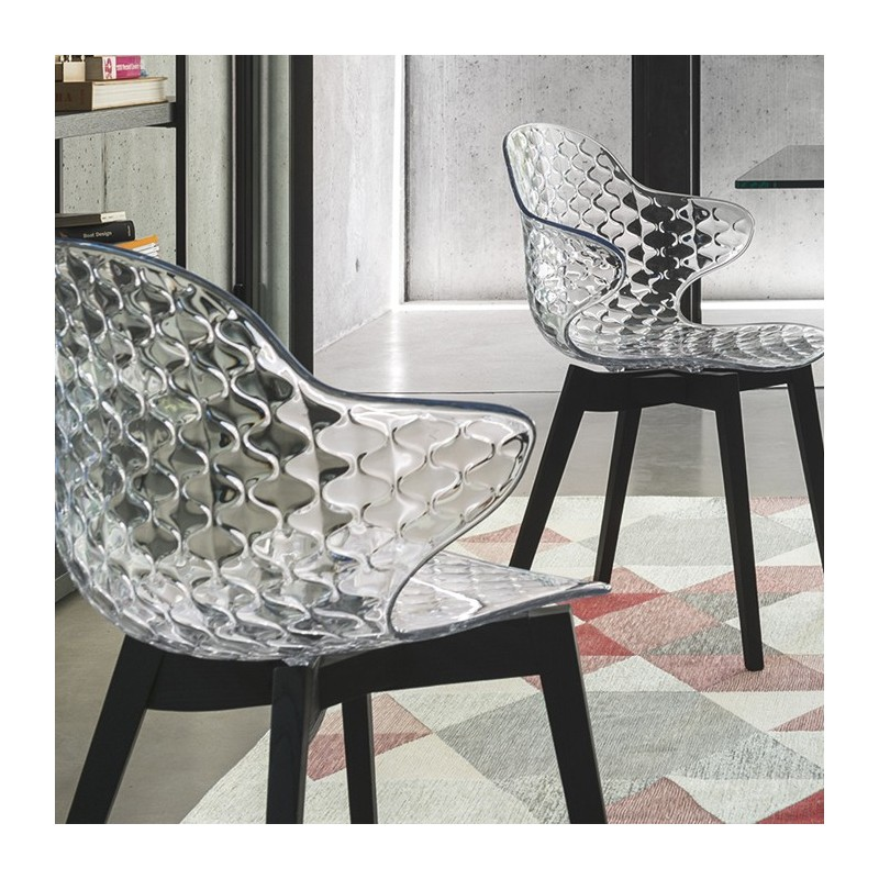 Calligaris Saint-Tropez W stoel