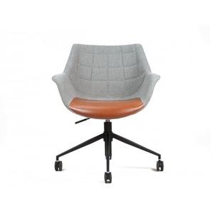 Doulton bureaustoel op wieltjes