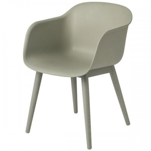 Muuto Fiber Wood armchair