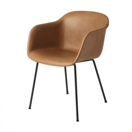 Muuto Fiber Tube Upholstered armchair