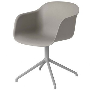 Muuto Fiber Swivel armchair