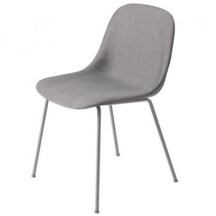 Muuto Fiber Tube Upholstered side chair