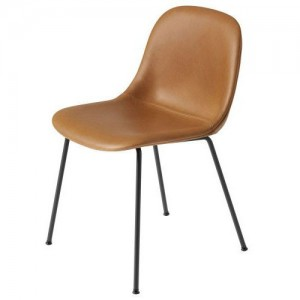 Muuto Fiber Tube Upholstered side chair