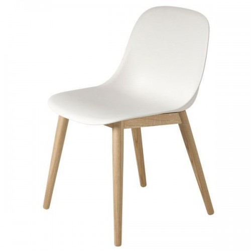 Muuto Fiber Wood side chair