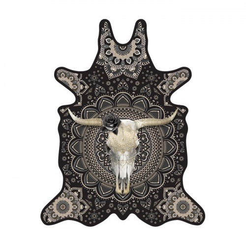 Tapis vinyle Pôdevache BS002 Bull Skull
