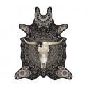 Pôdevache BS002 Bull Skull vinyl tapijt