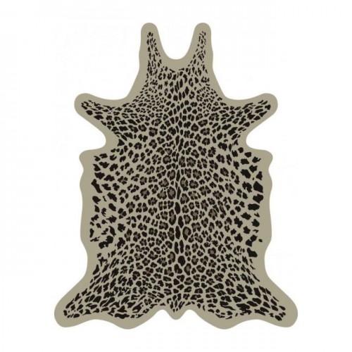 Pôdevache Leopard vinyl tapijt