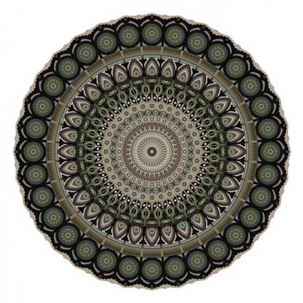 Pôdevache MA008 Mandala vinyl tapijt