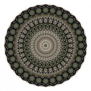 Tapis vinyle Pôdevache MA008 Mandala