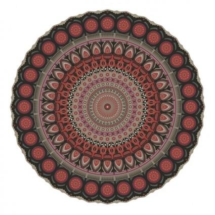 Tapis vinyle Pôdevache MA014 Mandala