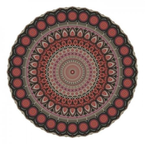 Pôdevache MA014 Mandala vinyl tapijt