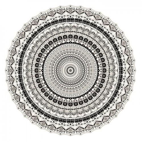 Pôdevache MA041 Mandala vinyl tapijt