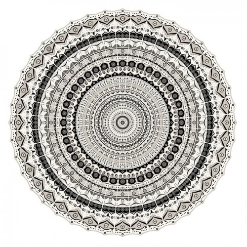 Tapis vinyle Pôdevache MA041 Mandala