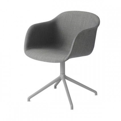 Muuto Fiber Swivel Upholstered armchair