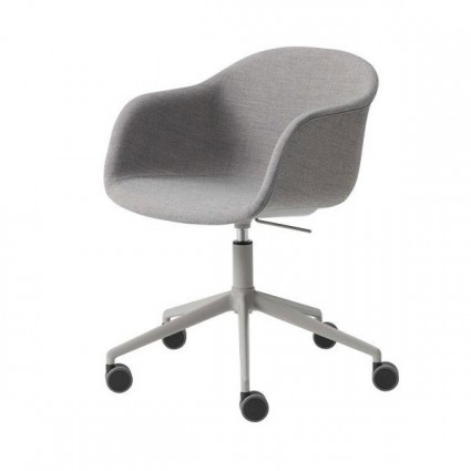 Muuto Fiber Office armchair upholstered